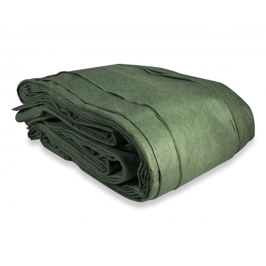 Włóknina na pryzmy P-140 9,8 x 25m zielona